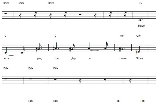 Sheet Music Of Song About The Ozark Howler Ozark Howlering Check out melobyte's art on deviantart. ozark howlering